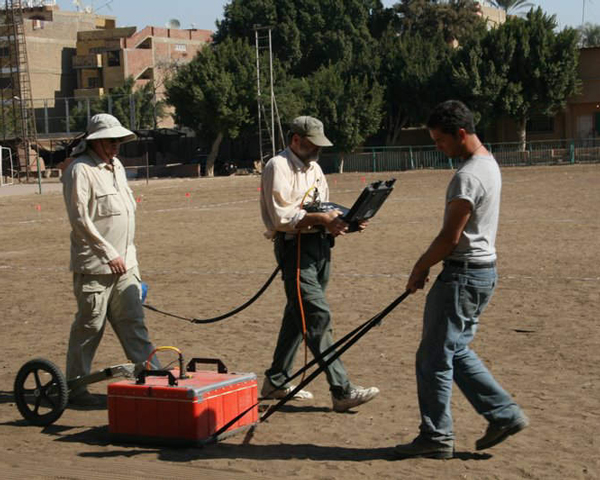 GPR Survey Giza Soccer Field