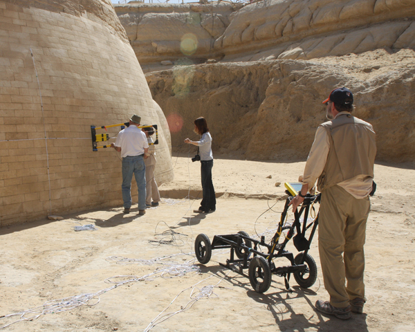 GPR probe of Sphinx Haunch