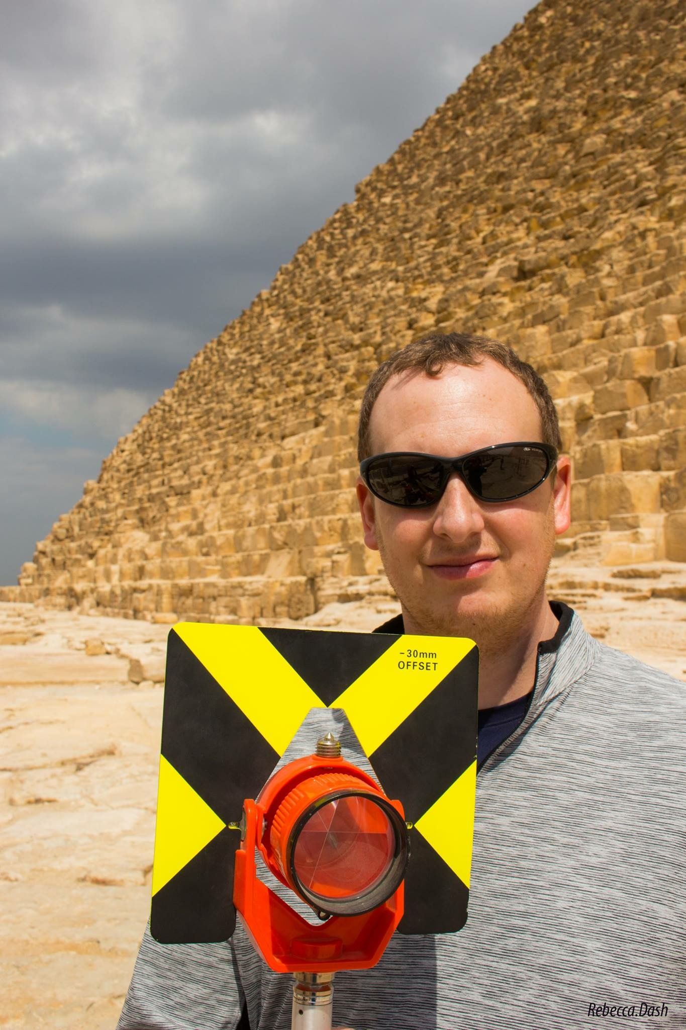 Eric Sperber at Giza